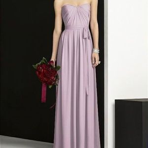 After Six 6678 Blush Bridesmaids Dress - Size 8